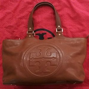 Tory Burch camel colored bag